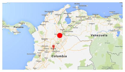 Colombia Quake
