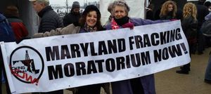 maryland fracking protest
