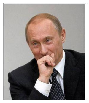Putin Giggling