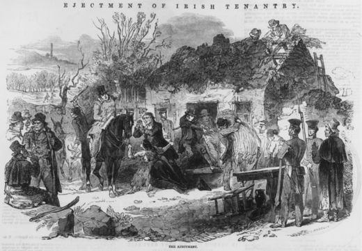 A Family Evicted During the 'Great Famine'