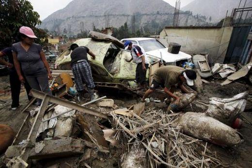 landslide peru