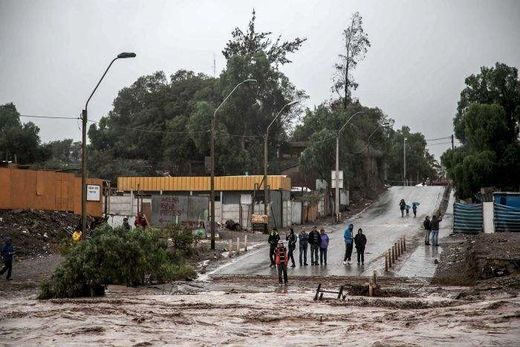 Flash floods in Northern Chile leave three dead, 22 missing