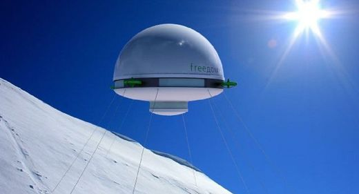 Freedom in the clouds: Russia unveils Flying House project