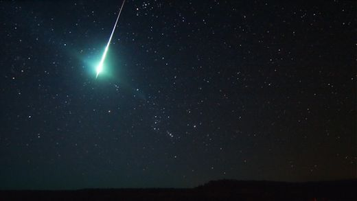 Fireball streaks across California's Bay Area
