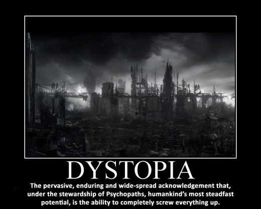 Dystopia that is found in the world essay