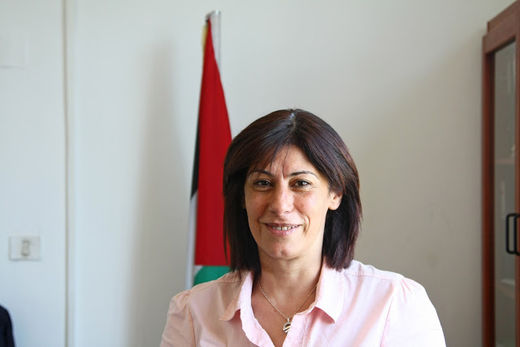 Palestinian lawmaker and activist Khalida Jarrar seized and jailed by Israel Defense Forces