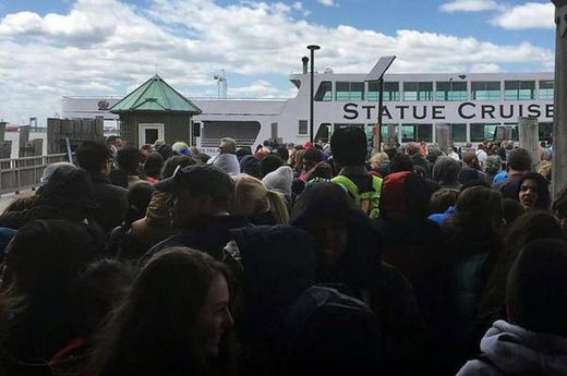 Statue Of Liberty evacuated following bomb threat and suspicious package