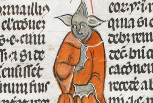 Found in 14th century manuscript, Yoda was