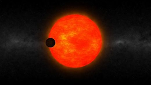 Strange exoplanet orbiting small cool star challenges planetary formation theories