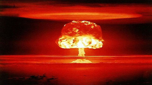 The Soviet Union was the ultimate target of the nuclear attack on Japan during WWII
