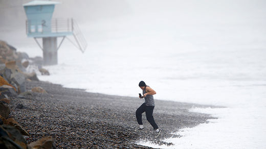 Surf's up: Recent New Zealand storm bringing massive waves to southern California