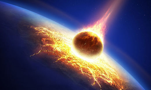 Ancient asteroid impacts might have boiled the oceans and made life on earth hell