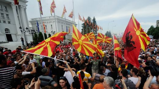 George Soros, NATO and the Western Color Revolution in Macedonia