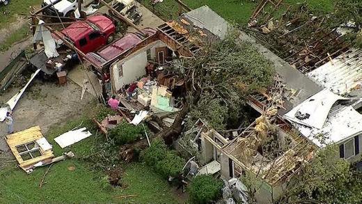 Ten tornadoes reported in one day in North Texas