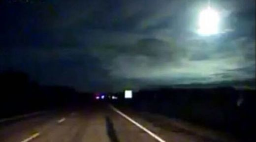 Massive fireball explodes in the sky over Puerto Montt, Chile