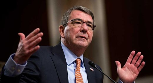 Pentagon chief hints at shift in US policy in war with ISIS