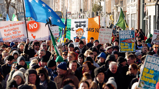 ​'Gross insult' and 'undemocratic': Petition against Irish water charges snubbed by officials