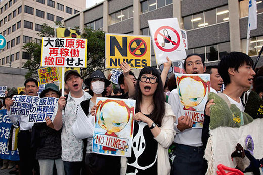 Thousands protest in Japan demanding removal of U.S. military base in Okinawa