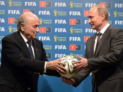 FIFA 'scandal' = US attempts to impose sports sanctions against Russia