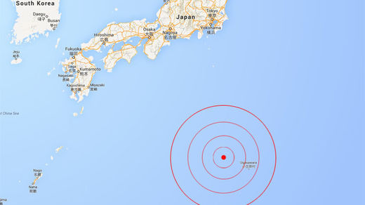 Strong 7.8 quake strikes off Japan's remote Bonin Islands