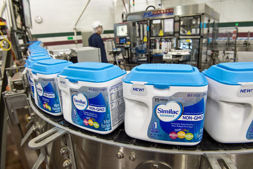 Similac advance infant formula to be offered G.M.O.-free