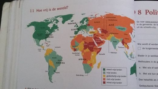 Anti-Russian propaganda appearing in Dutch school textbooks