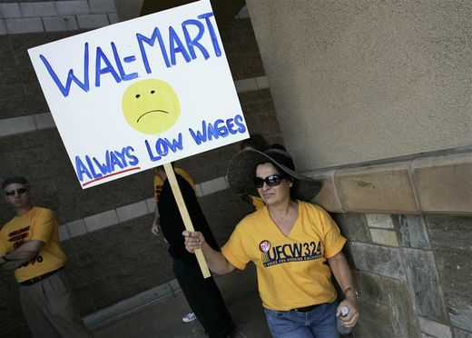 After paltry wage increases, WalMart bites back by cutting work hours