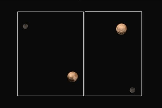 Four mysterious spots detected on Pluto
