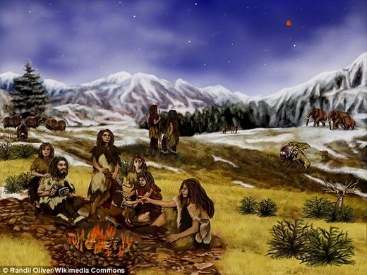 Did our early ancestors start cooking to make carrion safe to eat?
