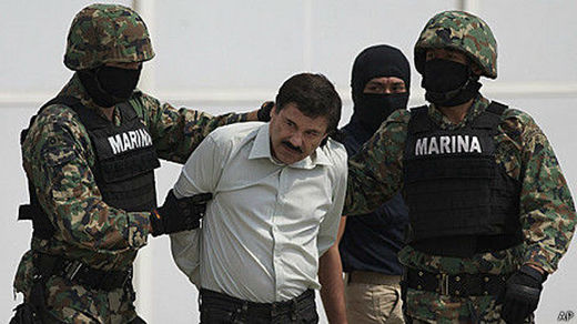 El Chapo Guzmán, Washington's Drug Problem, and the North American Police State