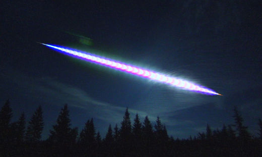 Large bolide seen over eastern Norway