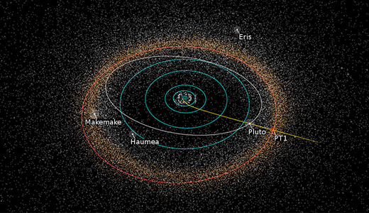 Potential Kuiper Belt flyby targeted by 'New Horizons' team