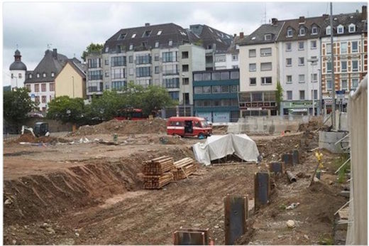 1-ton WWII bomb found in Koblenz, Germany - 10,000 evacuated