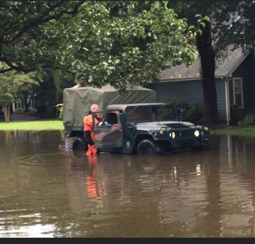 Half-foot of rain hits Charleston, South Carolina