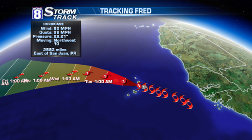 Hurricane Fred makes history in the Atlantic