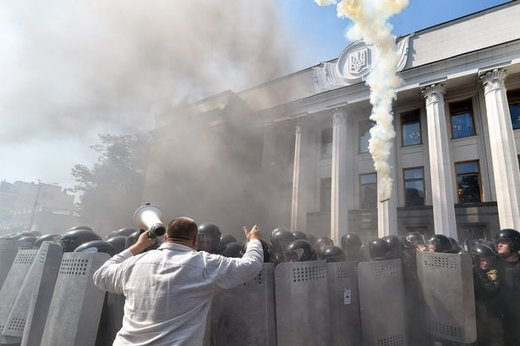 New riots in Kiev - Washington signaling Poroshenko is to be replaced?