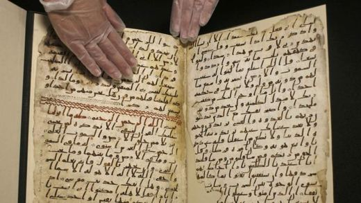 Still no sign of beheading infidels and raping girls bit in world's oldest Koran