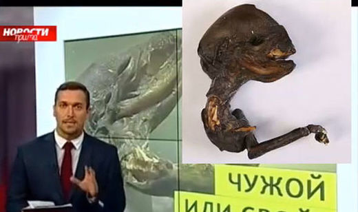 "Scientists baffled after mysterious ""alien"" corpse discovered in Russia"