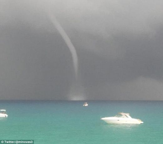 2 tornadoes strike Ibiza, Spain; sending boats crashing into rocks, uprooting trees and damaging houses