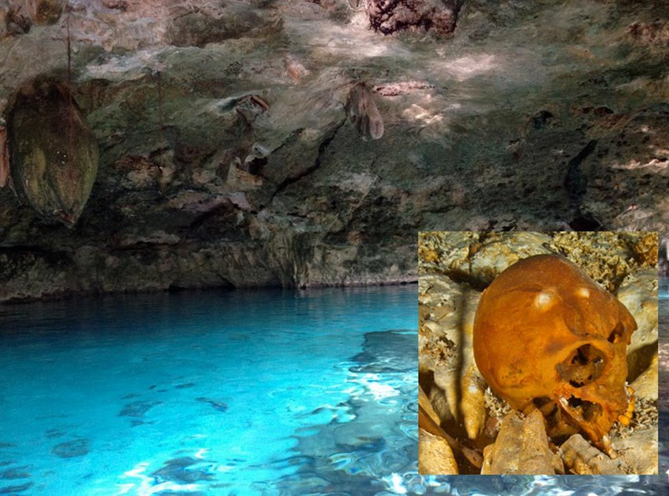 Ice Age skeletons discovered in Mexican underwater cave show evidence ...