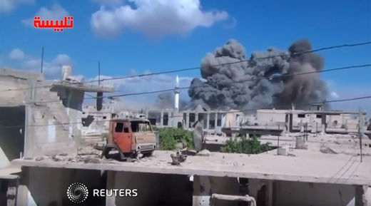 Russia in Syria: When the propaganda is kind of true - Russia bombing 'U.S.-trained' nutjobs
