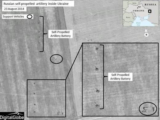 Grainy smudges vs. crystal clear jets: Why do U.S. satellites work in Syria but not Ukraine?