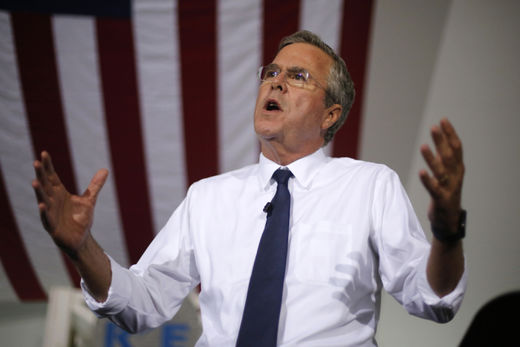 Jeb Bush declares war on stuff