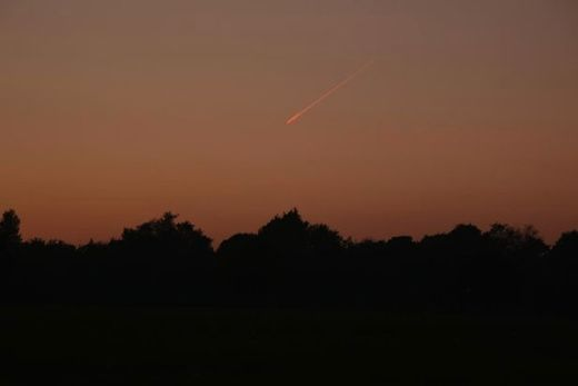Incoming! Meteor captured over Liverpool, UK skies