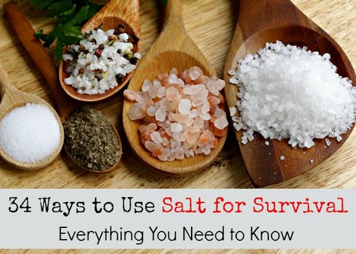 The benefits of salt for survival