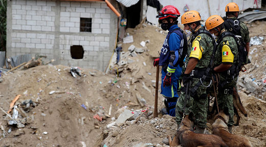 Earth changes result in wide-scale flood related destruction outside Guatemala City