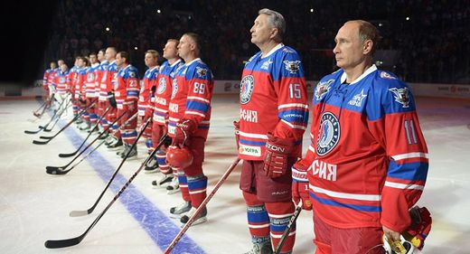 Another year wiser and not slowing down: Putin plays hockey on his birthday