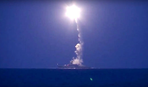 The Caspian Sea missile launch: Russia shows its hand and wins