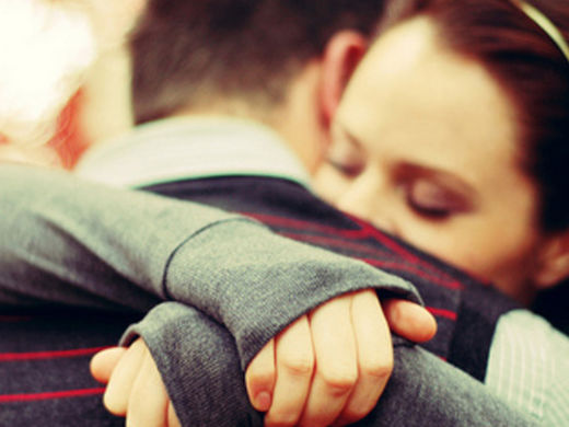 Hugging boosts oxytocin and improves emotional well-being