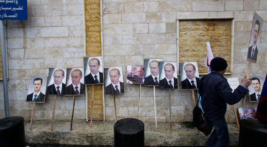 What does Russia want regarding Syria?
